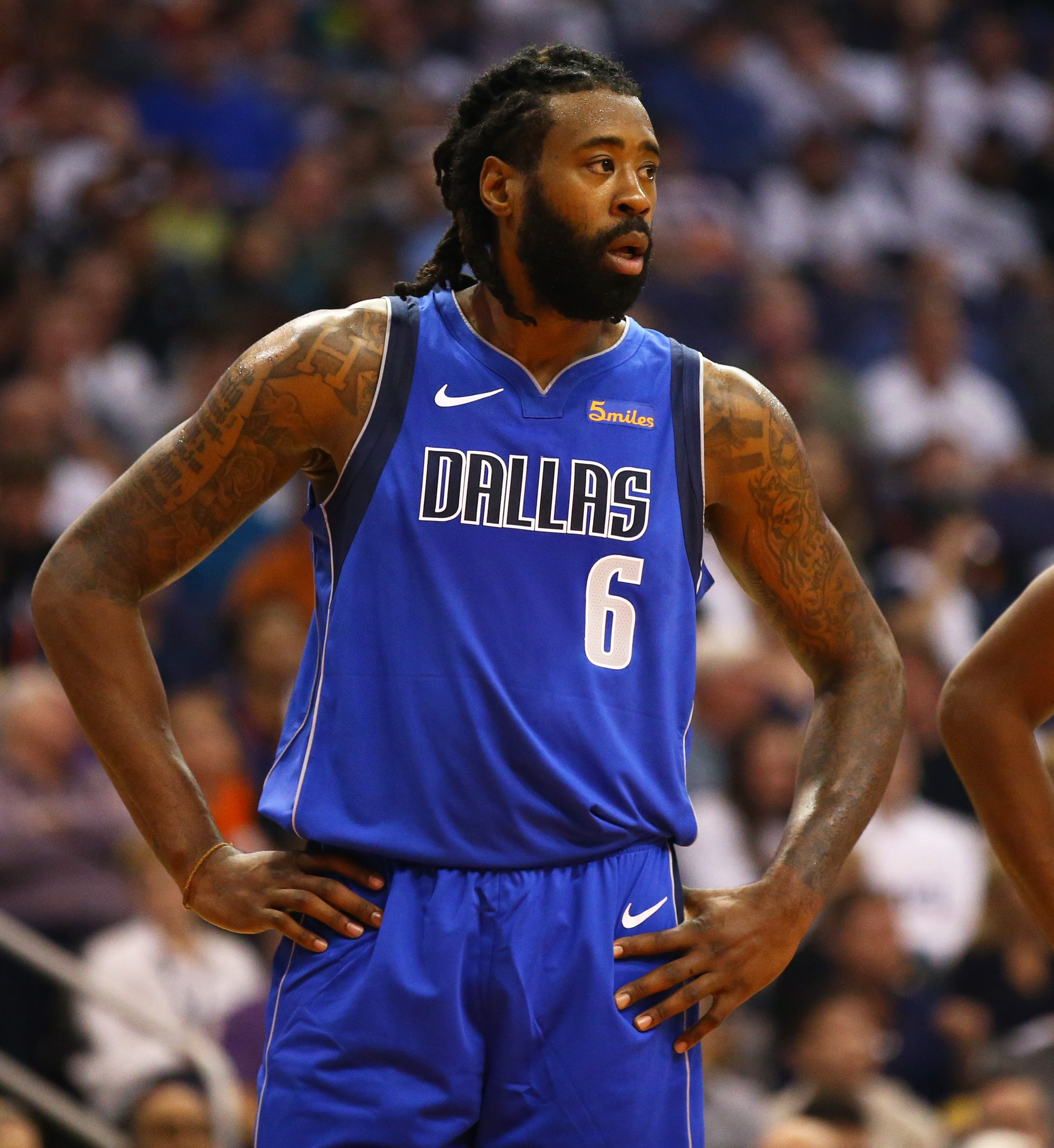 DeAndre Jordan, a career 45 percent shooter from the line, is suddenly making his free throws
