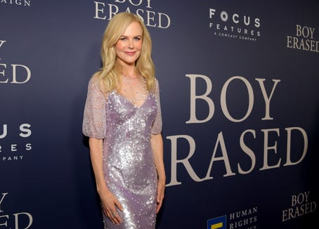 """Nicole Kidman plays a religious mother who sends her gay son to conversion therapy in """"Boy Erased."""""""