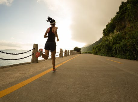 Which is better? Cycling vs. Running