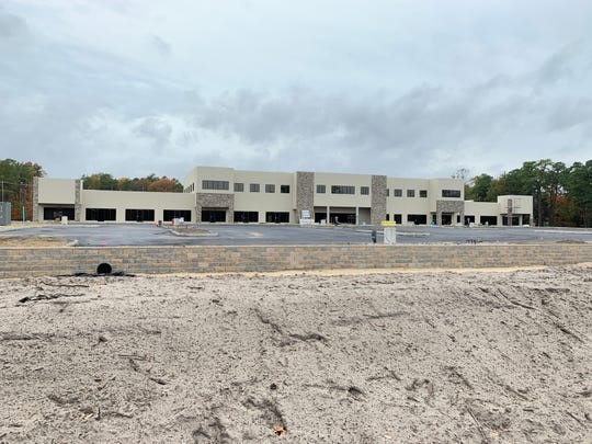 The Shoppes at Hooper is under construction on Hooper Avenue in Toms River.