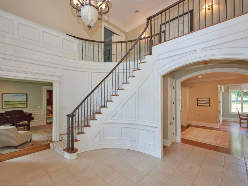 Rumson home at 6 Willowbrook Road features impeccable quality.
