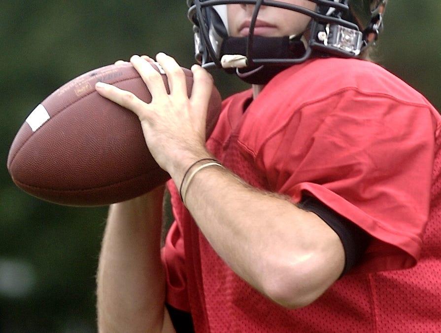 From 2005: Union-Endicott High School football- quarterback Ryan Quinlivan