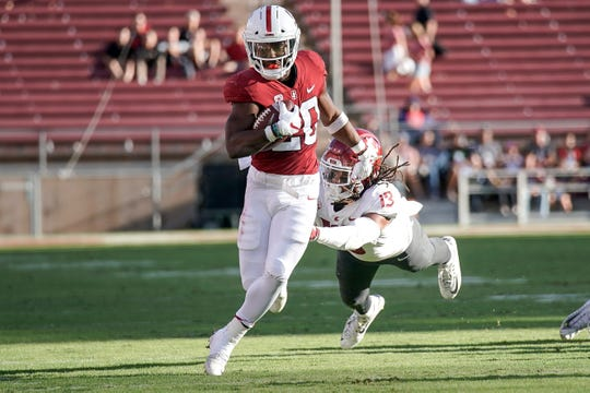 Stanford running back Bryce Love has rushed for just 413 yards and three touchdowns this season.