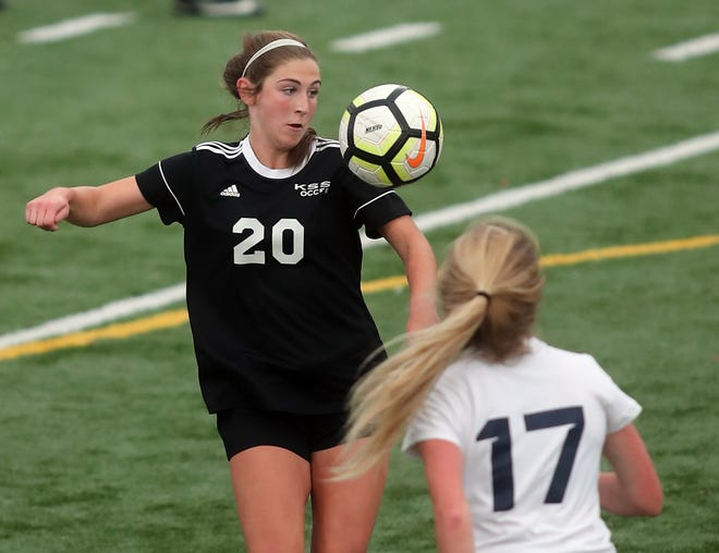 Klahowya's Alyssa Peters was named the Olympic League 1A most valuable player this week.