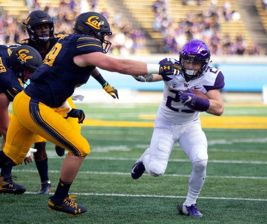The Huskies have relied on backups like Sean McGrew  in recent weeks due to an injury to starter Myles Gaskin, who is expected to return against Stanford.