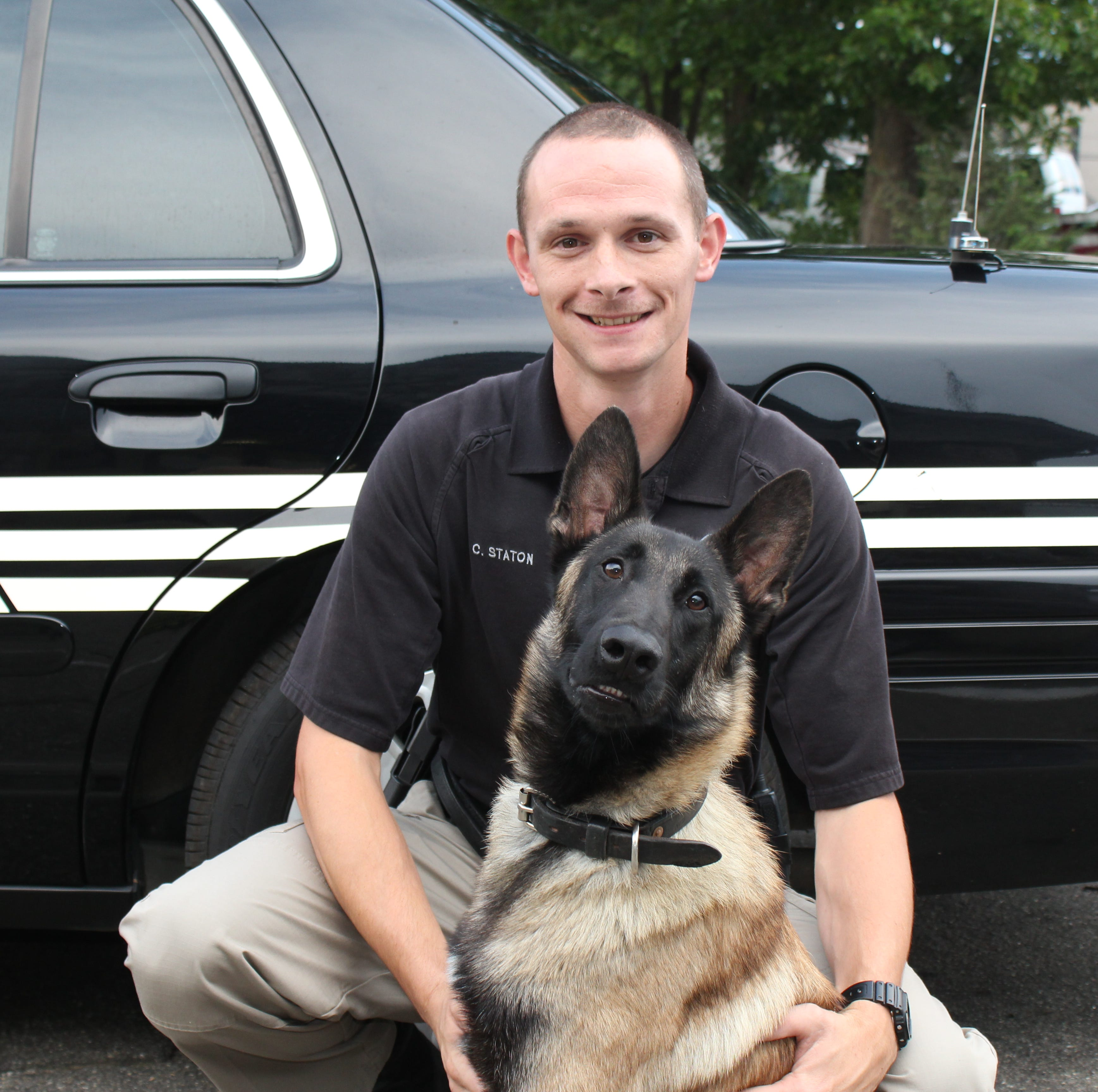 As Brisco prepares to retire, BMPD welcomes Cayman to the force