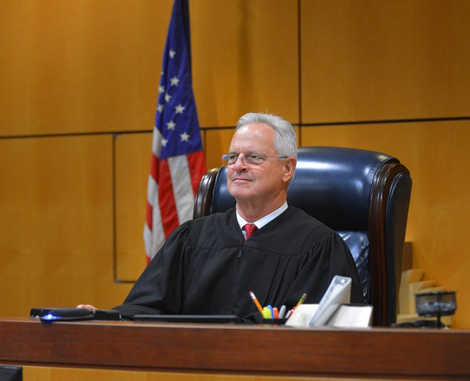 Volunteer of the Year nominee Judge David Dugan spends his time helping veterans, first responders and at-risk youth.