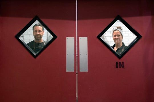 Owners Mark Pellegrino, left, and Deborah Pellegrino at MADE Atlantic City Chocolate Bar in Atlantic City, N.J.