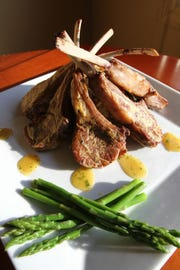 Cranberry apple duck breast ($33) is a festive alternative to turkey at Barnsboro Inn.