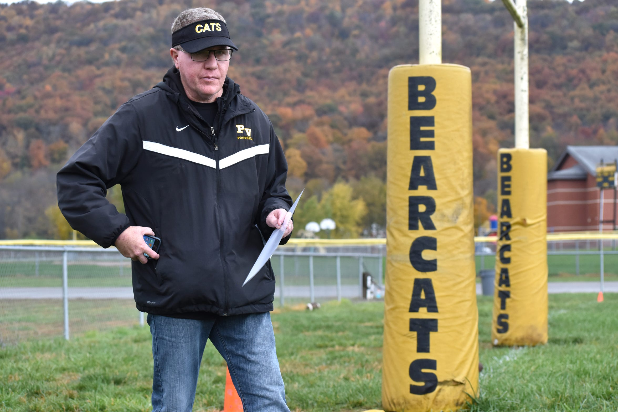 Paint Valley football coach Mike Reed was in a deadly accident in August, but now he's alive and well and a big part of an undefeated team.