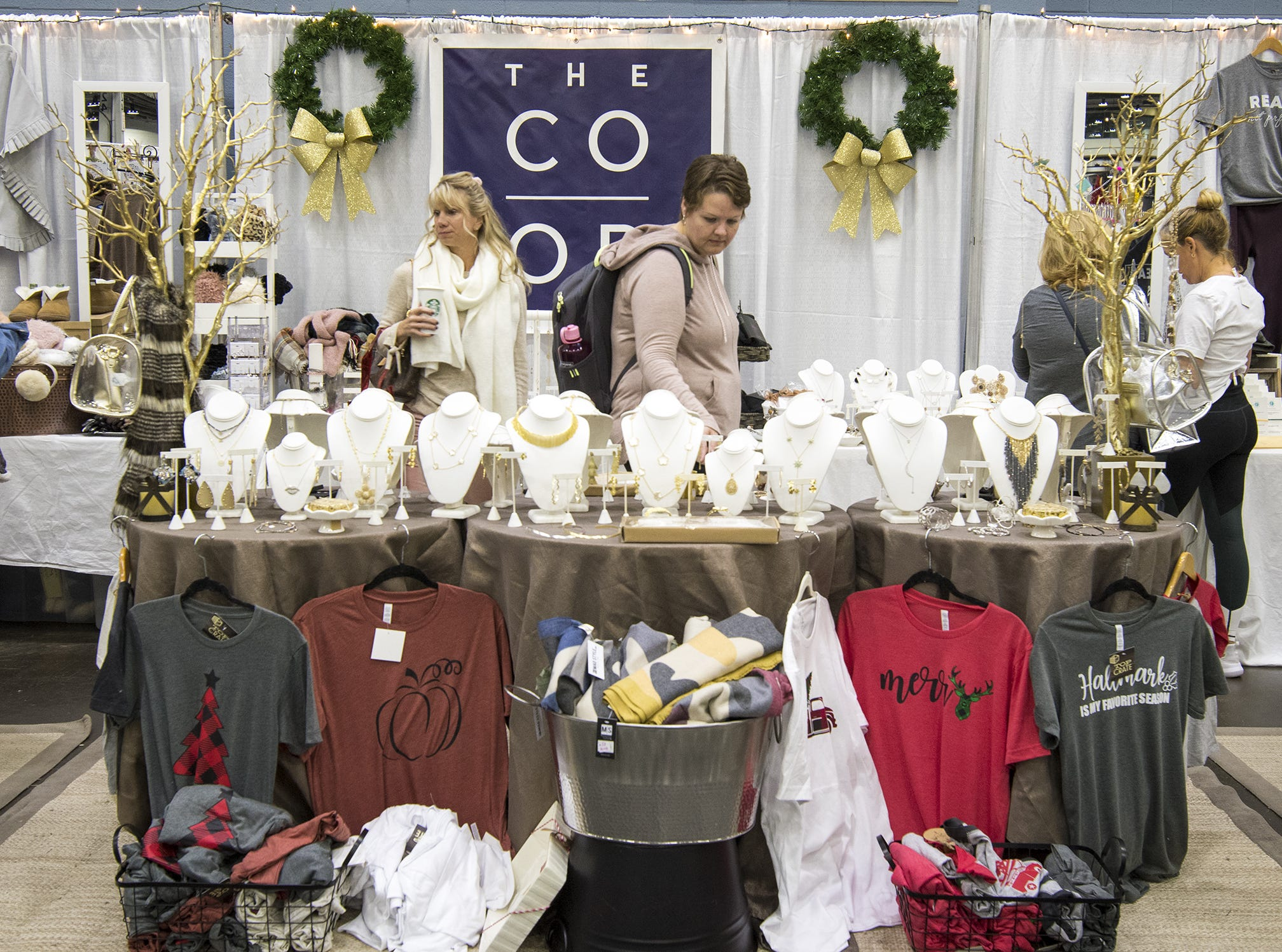 The Co-op draws the attention of many shoppers during the Greater Cincinnati Holiday Market at the Duke Energy Center Friday, November 2, 2018 in Cincinnati, Ohio.