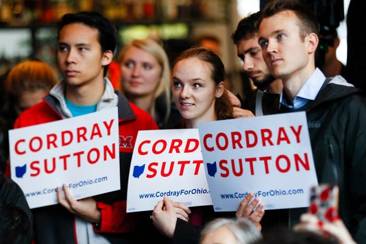 Young People Cordray Rally
