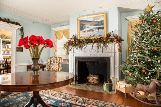 The Friends of the Jacobus Vanderveer House invite visitors to experience Christmas past and present when the circa 1772 Dutch Colonial museum opens its wreath-clad doors for the 16th Annual Colonial Christmas, on Nov.24, 25 and December 1 and 2 at 3055 River Road, River Road Park, Bedminster.