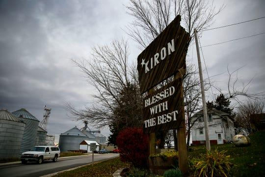 Steve King's home town of Kiron Friday, Nov. 2, 2018.