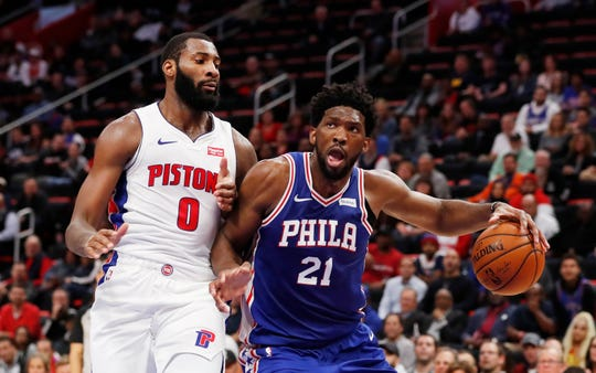 Andre Drummond and Joel Embiid