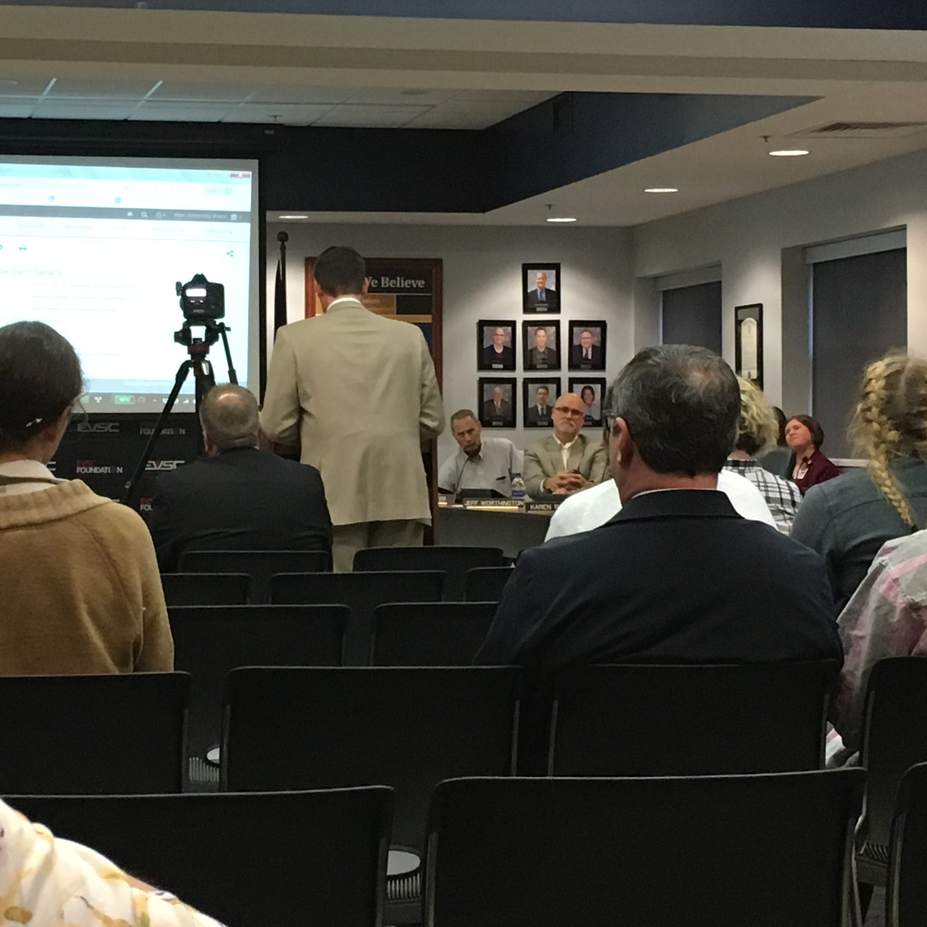 EVSC School Board: Recent retirements, resignations and appointments