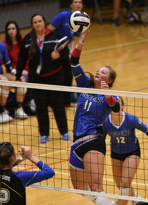 Pickens falls to North Myrtle Beach in Class AAAA volleyball final