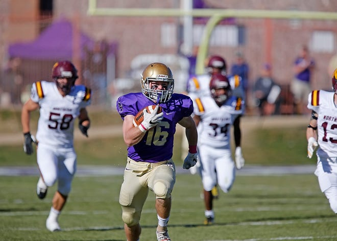Sophomore running back Ryan Arntson of Carroll College made his first start a memorable one last week. Arntson rushed for 267 yards in a Saints' victory over Montana State-Northern