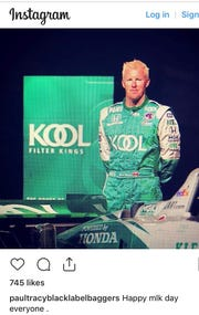 Paul Tracy made this post on Martin Luther King Day.