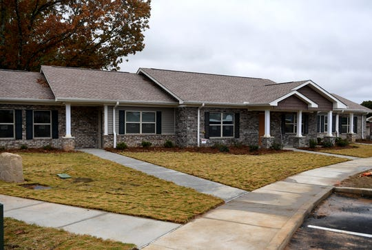 New apartments have been constructed on Kingsfield Drive in East Jackson.