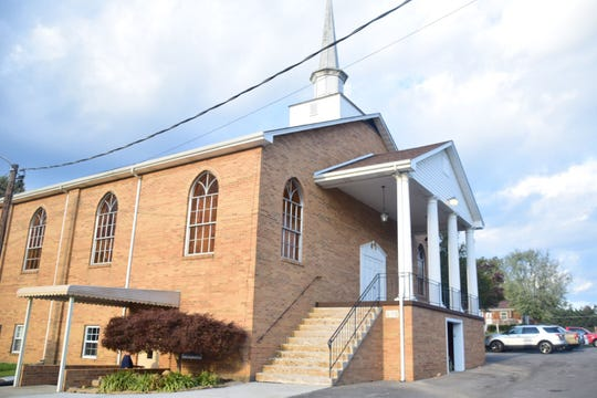 The 12 thousand square feet building is currently under renovations, but Sunday worship services are still held downstairs each Sunday at 10:30 a.m.