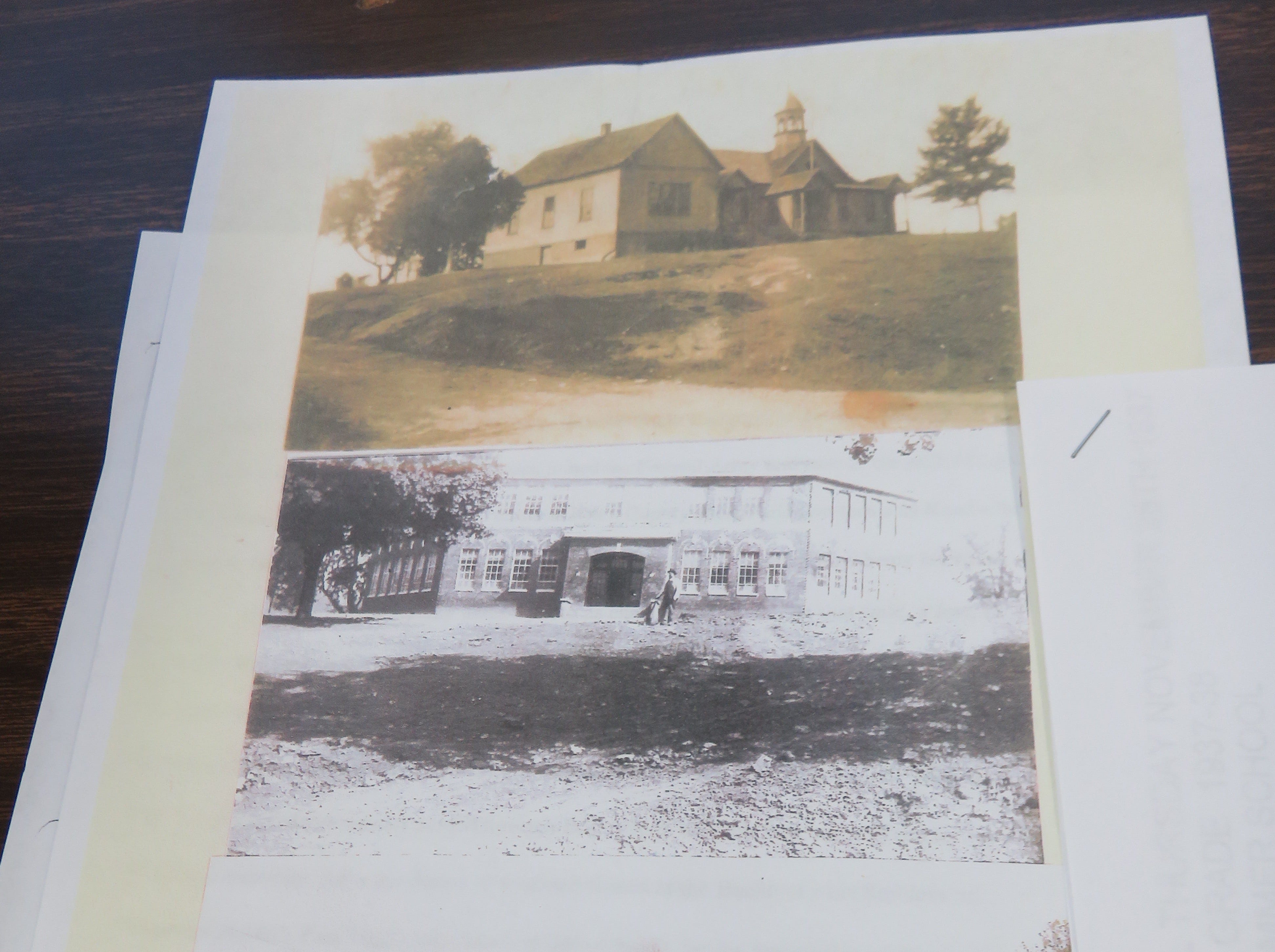 Old photos show three different Bearden Elementary Schools.