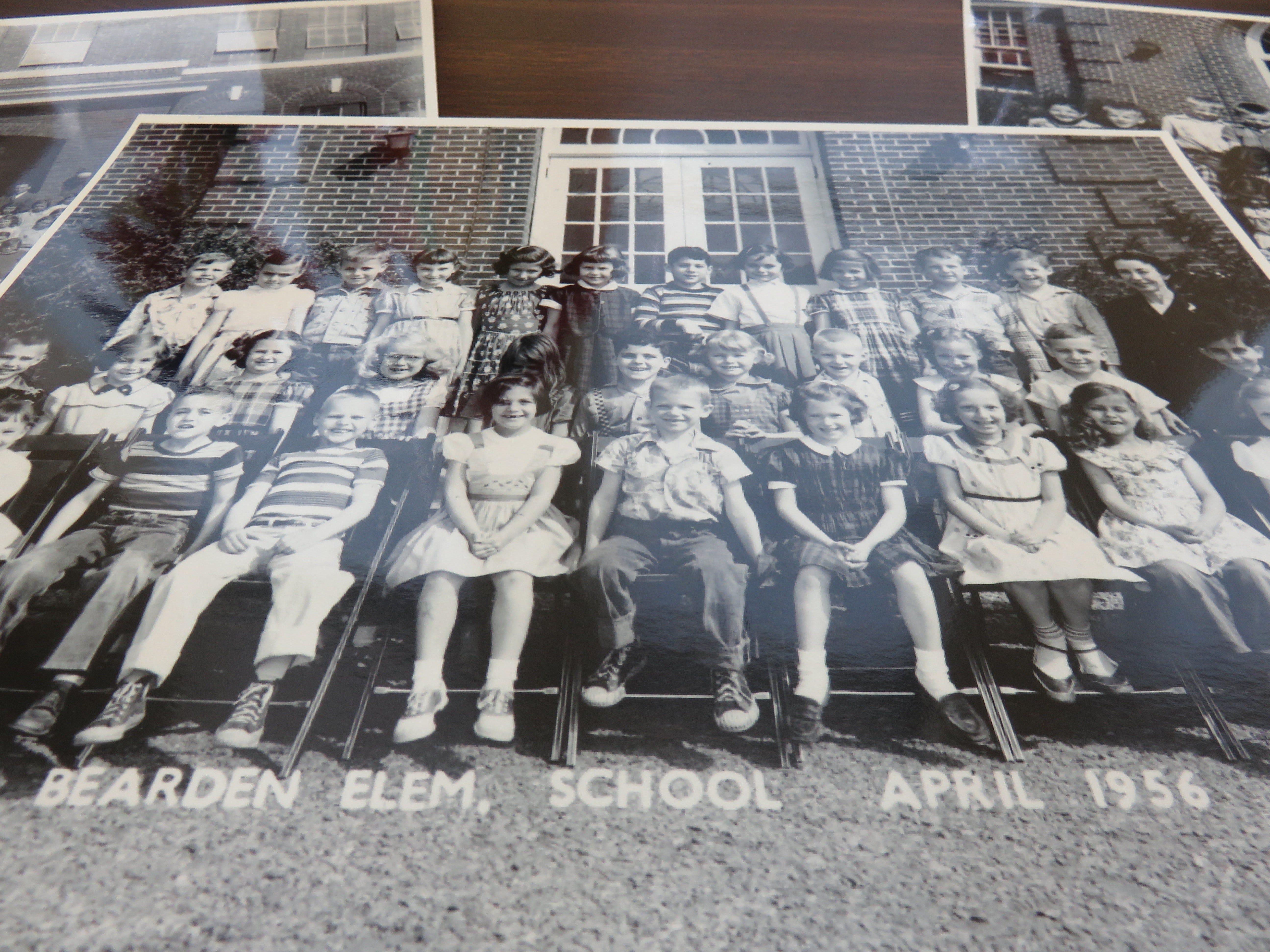 Students from Bearden Elementary, 1956.