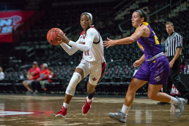 UL's Skyler Goodwin is hoping to be part of the solution to improving upon the Cajun women's 2-9 start to the season.