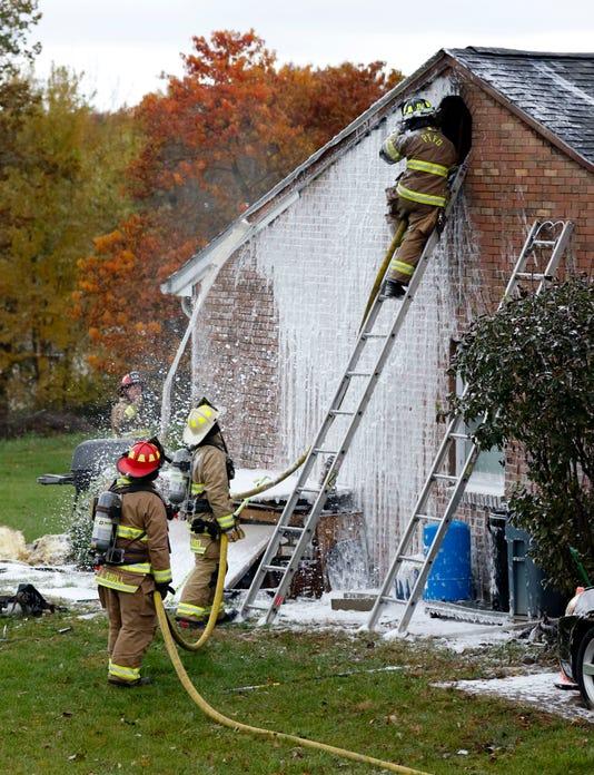 Lan Garage Fire