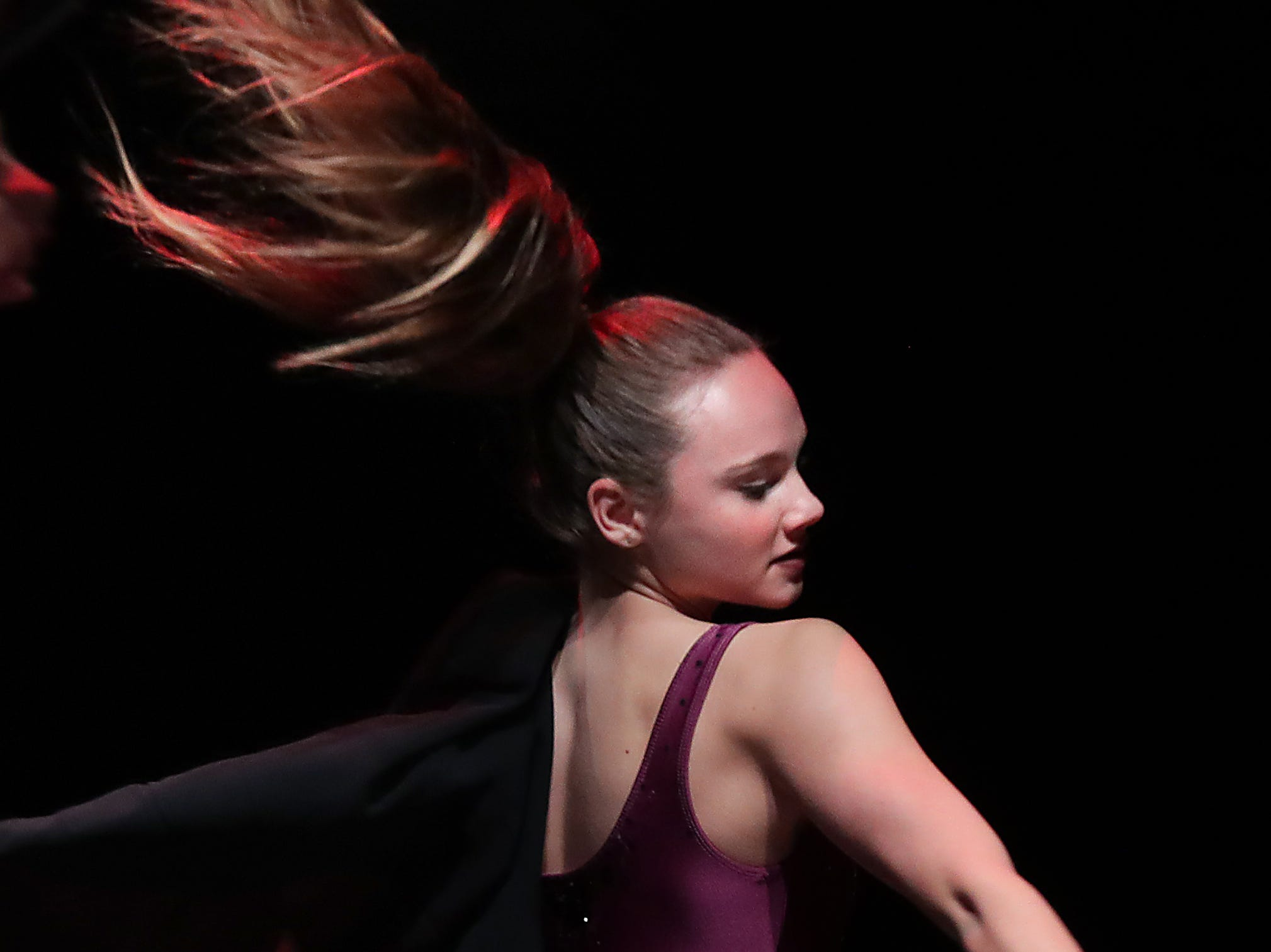 CirqueLouis' Lilliana Price rehearses for their new show called Gravity's Varieties. Nov. 1, 2018