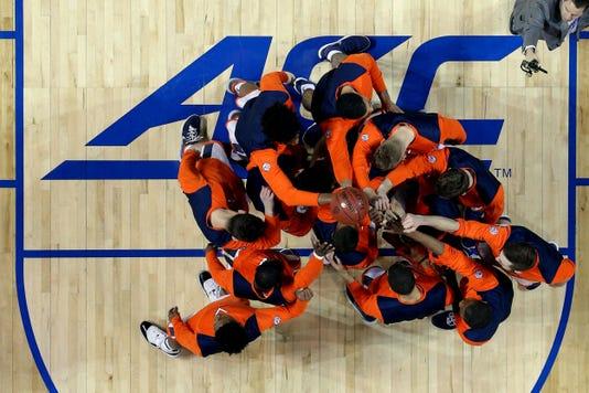 Ncaa Basketball Acc Conference Tournament Championship Virginia Vs North Carolina
