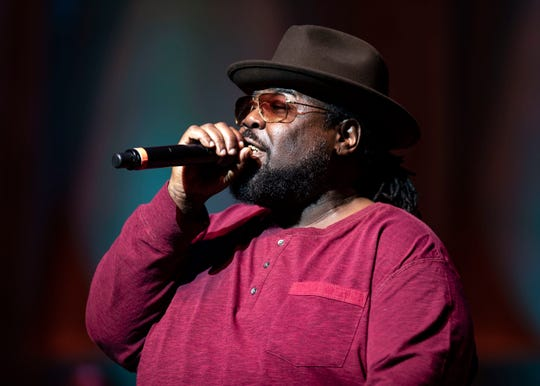 8 Ball performs at the 2018 Memphis Music Hall of Fame Induction Ceremony Thursday November 1 at the Cannon Center For The Performing Arts.