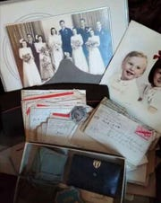A suitcase found in the attic of a South Milwaukee home contained wedding and child photos, love letters and other personal items that belonged to Helen and Alex Sokolowski. A search led to the son and daughter of the Sokolowskis, and the suitcase was given to them. Alex died in World War II in 1945, and Helen died of cancer in 1950, leaving the two young children behind.