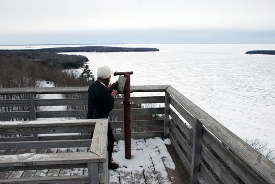 Eagle Tower at Peninsula State Park in Door County. Photo: Door County Chamber of commerce