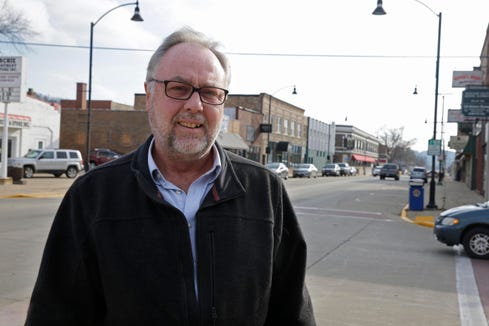"""Larry Engel, pastor at Five Points Lutheran Church in Richland County, says anxiety over politics is """"like the new normal. Everybody is afraid to pick up the paper, and when they do, they're afraid to talk about it."""""""