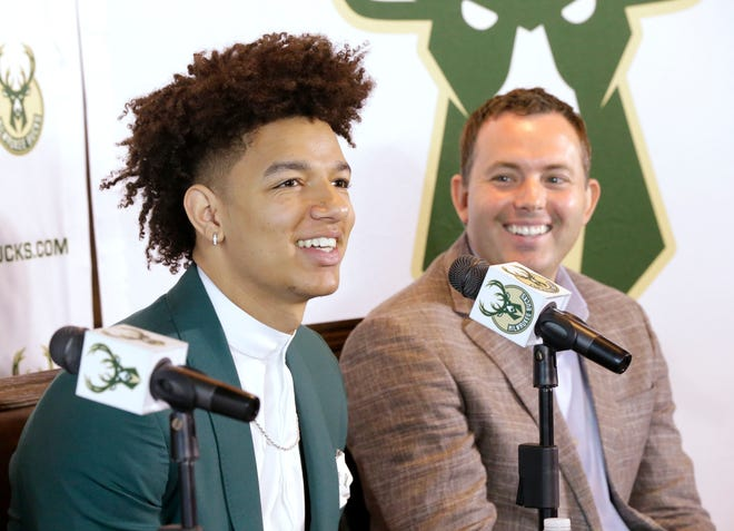 Bucks general manager Jon Horst says he believes in D.J. Wilson's potential to develop.