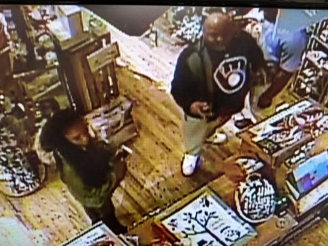 Police are looking for these men, accused of a physical altercation with a teenage employee at The Cracker Barrel in Germantown.