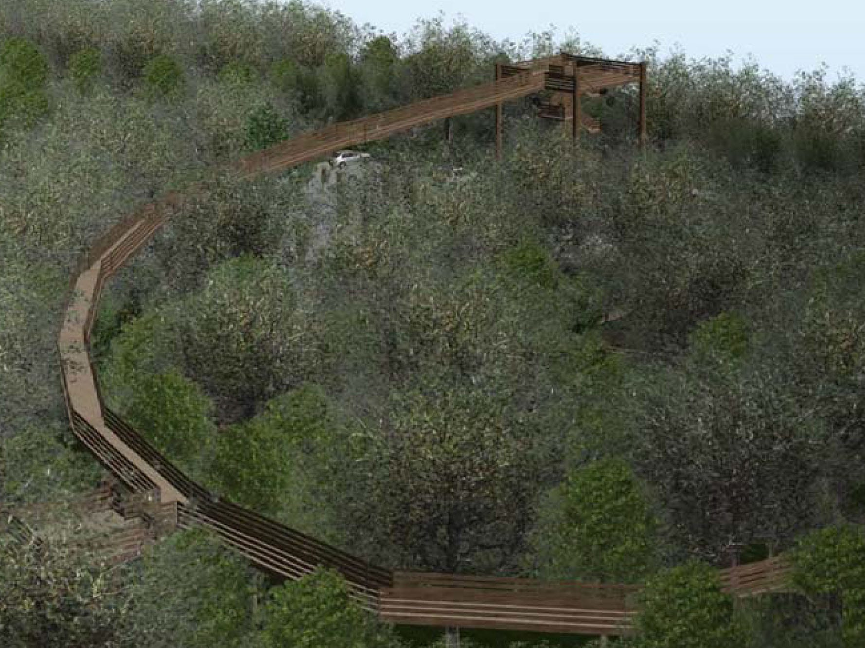 Fully accessible observation tower with ramp planned  for Peninsula State Park in first-of-its-kind project