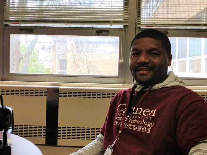 Branden Joseph worked at Destiny High School for eight years before he became coach of the Carmen Eagles.