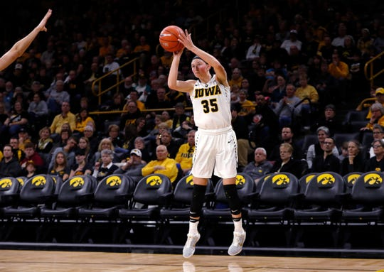 Bre Cera started 18 games and played in 31 as a freshman at Iowa,  where she averaged 2.0 points and 2.1 rebounds a game and shot 37.5% from three-point range.