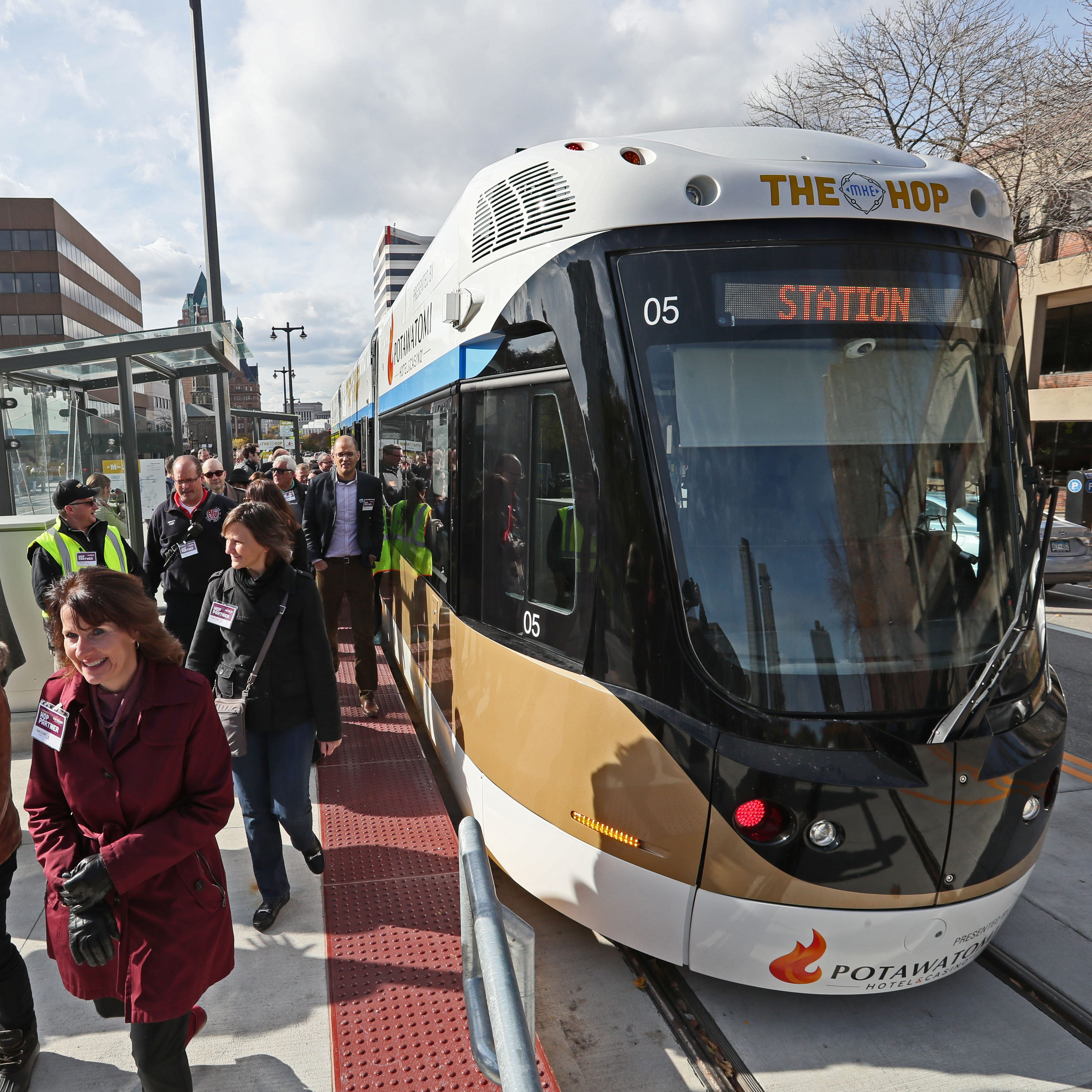 Milwaukee streetcar expansion to Fiserv Forum stalled by failing to win federal grant