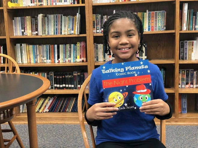 Jada Scott and her parents will host a book signing reception at the Discovery Center in Murfreesboro on Saturday, Nov. 3, beginning at 5:30 p.m.