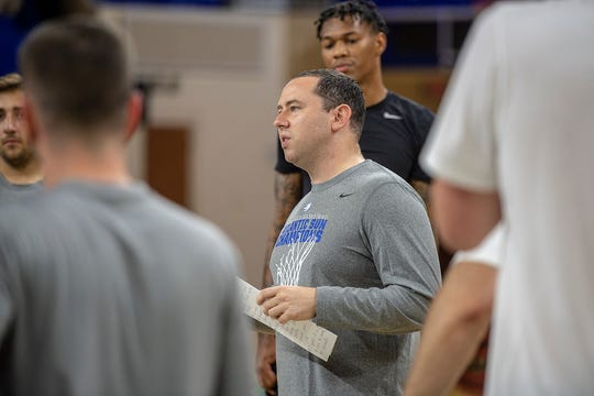 FGCU's Michael Fly is a first-time head coach, but he's been with the Eagles since 2011.