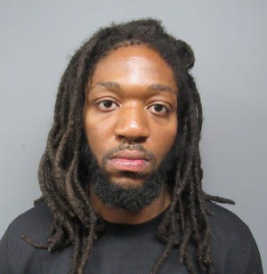 Dominique Giddings, 30, was arrested for possession of multiple drugs. Giddings had previously been convicted of armed robbery.