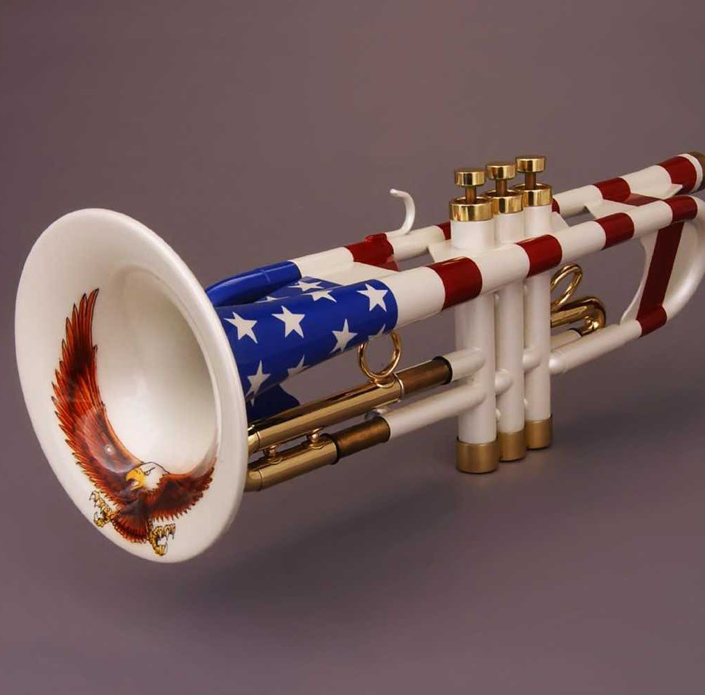 You've never seen trumpets like the ones at Morris Museum