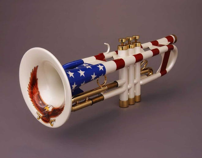Uncle Sam Trumpet by Andy Taylor