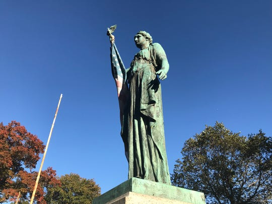 The Second Ward War Memorial honoring Paterson residents who served in World War I is located in West Side Park in Paterson.