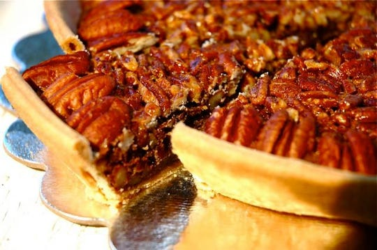 Pecan pie from Suzi Cakes