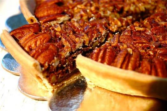 Pecan pie from Suzi Cakes
