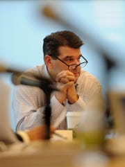 Fort Lee Mayor Mark Sokolich during a 2012 Planning Board meeting.